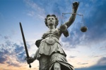 international-justice-day - Roman goddess of Justice - Sculpture of Lady Justice