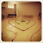 Wedding Ceremonial Labyrinth - Jan, 2014