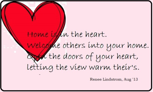 Home is in the heart