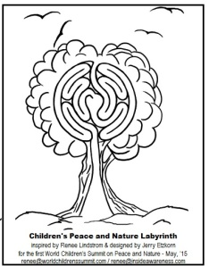 Children's Peace & Nature Labyrinth
