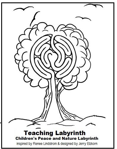 Kids Teaching Labyrinth Inside Awareness With Renee