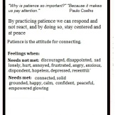 getting InTouch - Value - Patience 2
