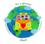 peace bus for a greener planet