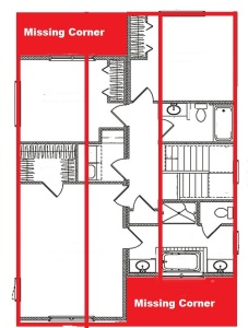 Floor Plan - Missing Corner