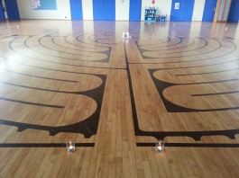 Cadboro Bay United Church Chartes style labyrinth - 2625 Arbutus