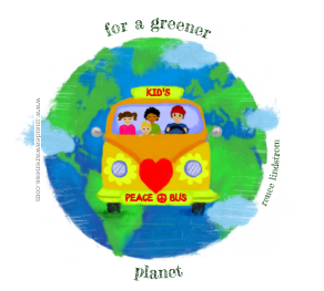 kids peace bus