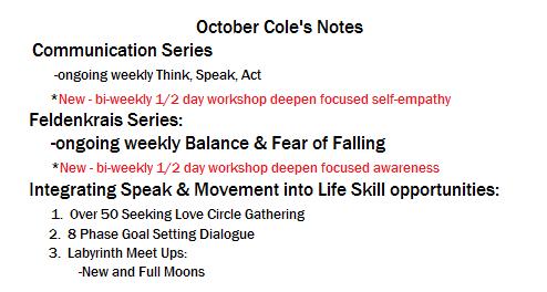 Oct coles notes