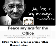 Peace sayings for the office 23 - 64