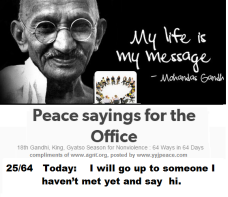 Peace sayings for the office 25 - 64
