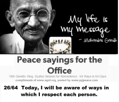 Peace sayings for the office 26 - 64