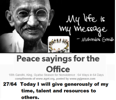 Peace sayings for the office 27 - 64