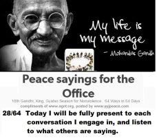 Peace sayings for the office 28- 64